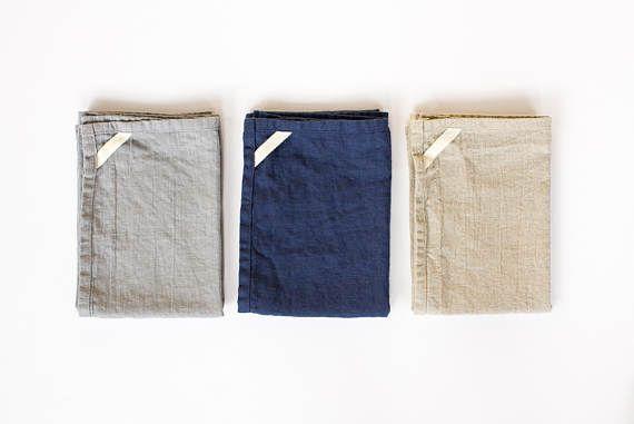 twee linnen keuken handdoeken / handdoekjes / ideaal voor