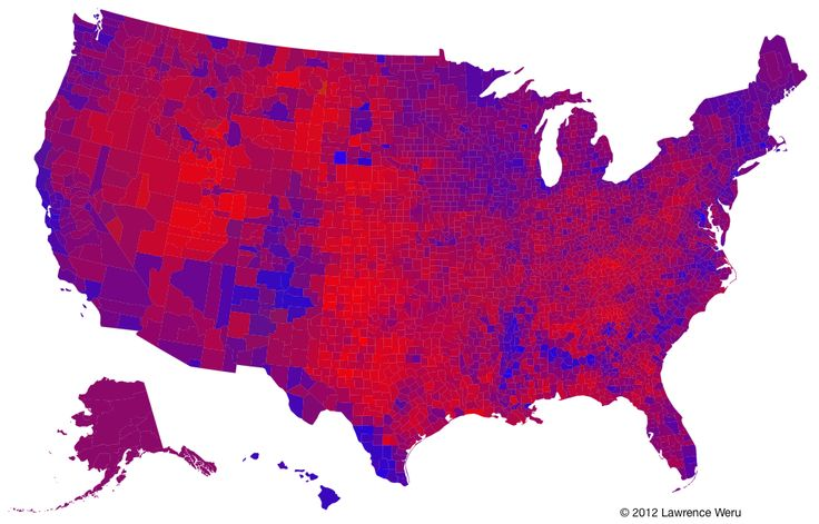 The Trouble with the Purple Election Map — Matter — Medium