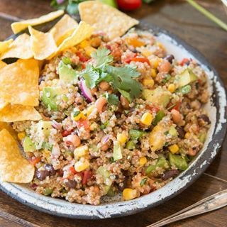 Cowboy caviar quinoais a mashup of the classic cowboy caviar salsa and a healthy quinoa side.. . .Make sure to use #OhSweetBasil when you recreate a recipe! We would love to see how it turned out for you!. . .http://www.ohsweetbasil.com/cowboy-caviar/. . .#summersnacks #cowboy #caviar #healthy #feedfeed #foodblog #foodphotographer #foodphotography #foodstyling #huffposttaste #beautifulcuisines #hautecuisines #hungry #easyrecipe #beautifulfood #com...