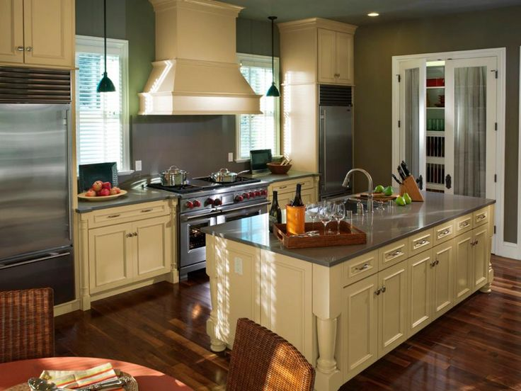 25 best ideas about one wall kitchen on pinterest - Galley Kitchen With Island Layout