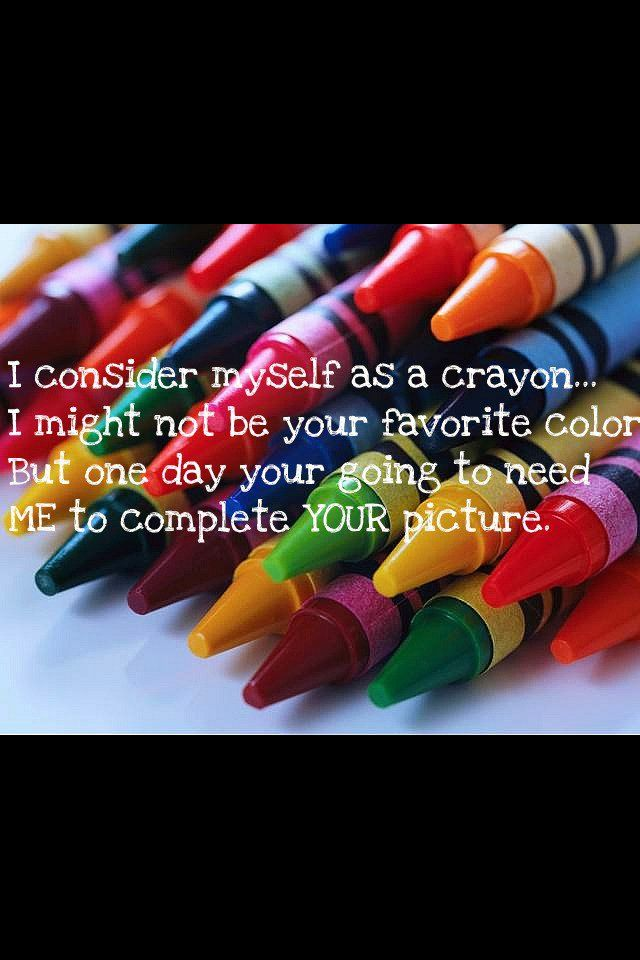 Crayons Can Talk?!?