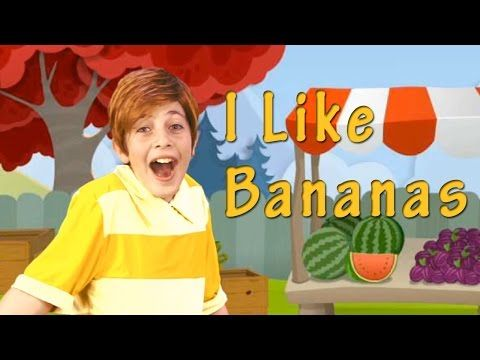 """Fun songs in English for young children! """" I like bananas, I like apples too. I like plums. So do you. I love my teddy bear, I love my doggy too. I love my doll, And I love you..."""" . Your child will love learning English the natural way, with this energetic, rhyming video from Helen Doron English. English Songs for Kids with Lyrics!"""