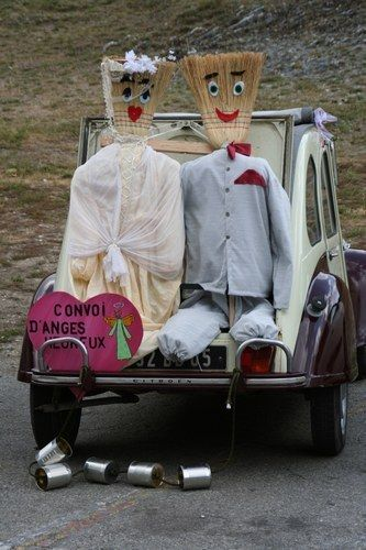 Idées voiture balai http://yesidomariage.com - Conseils sur le blog de mariage