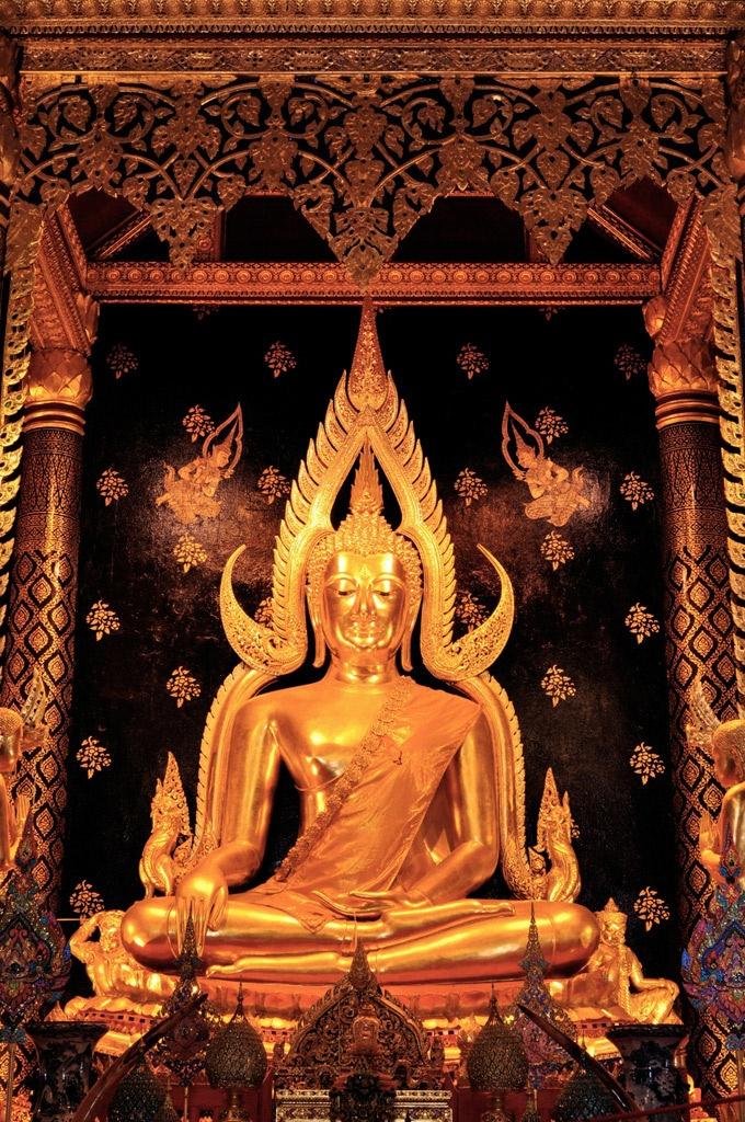 Phra Buddha Chinnaraj,Phitsanulok, Thailand