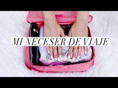 ¿QUÉ LLEVO EN MI NECESER DE VIAJE? ♥ Imprescindibles de Aseo y Maquillaje - YouTube