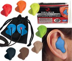 Radians DIY custom molded ear plugs