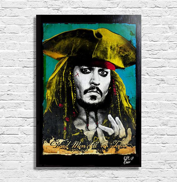 Jack Sparrow from Pirates of the Caribbean: Dead Men