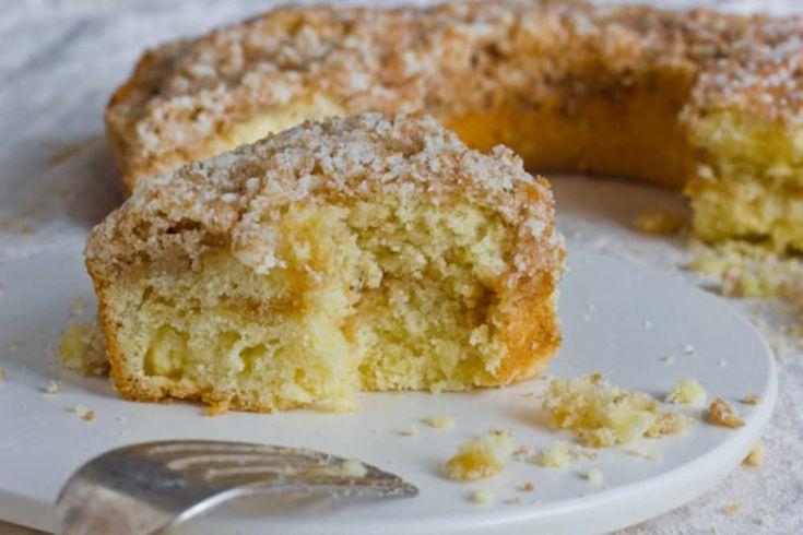 Buttery streusel coffee cake recipe streusel coffee