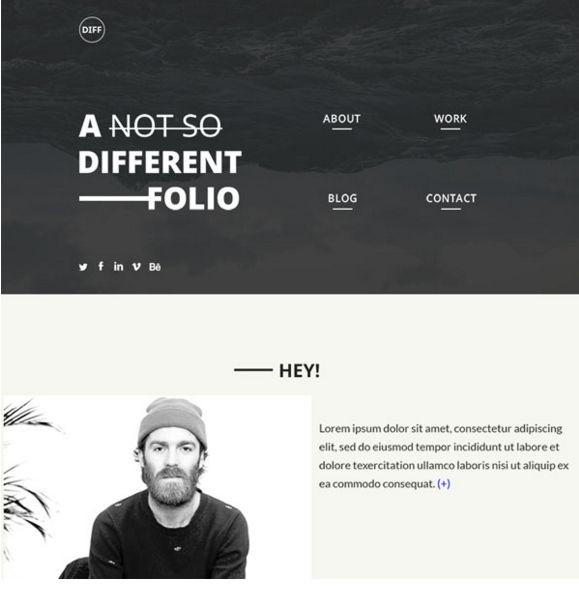 26 best 25 Free Resume PSD Website Template images on Pinterest - best resume website templates