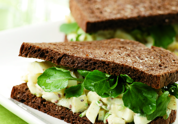 Watercress, a cruciferous vegetable, adds a zesty note—and welcome phytonutrients—to this enlightened version of an American classic.