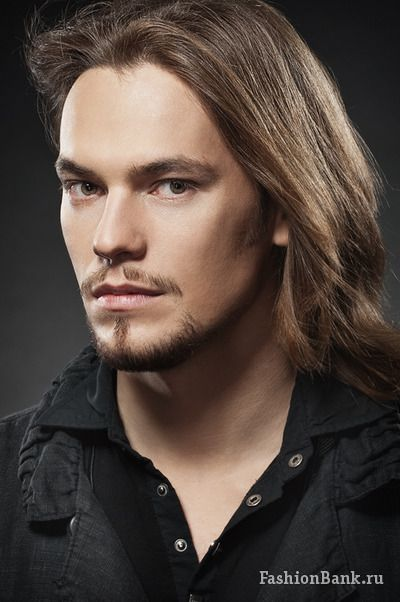 Russian long haired male model sergey vesnin longhair for Ford male models salary