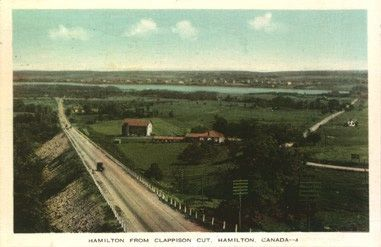 Vintage Postcards of Streets in Hamilton, Ontario (Part 2)