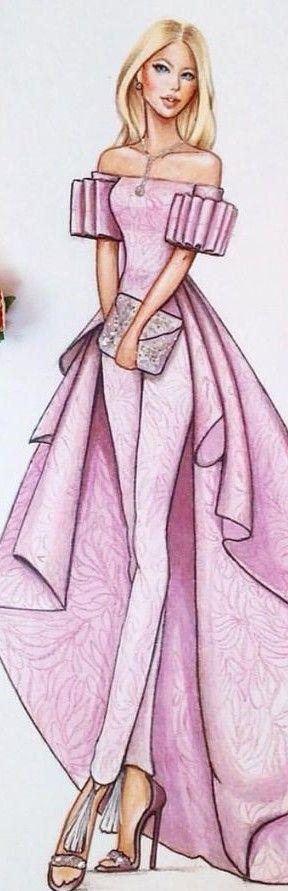fashion illustration by Delyais