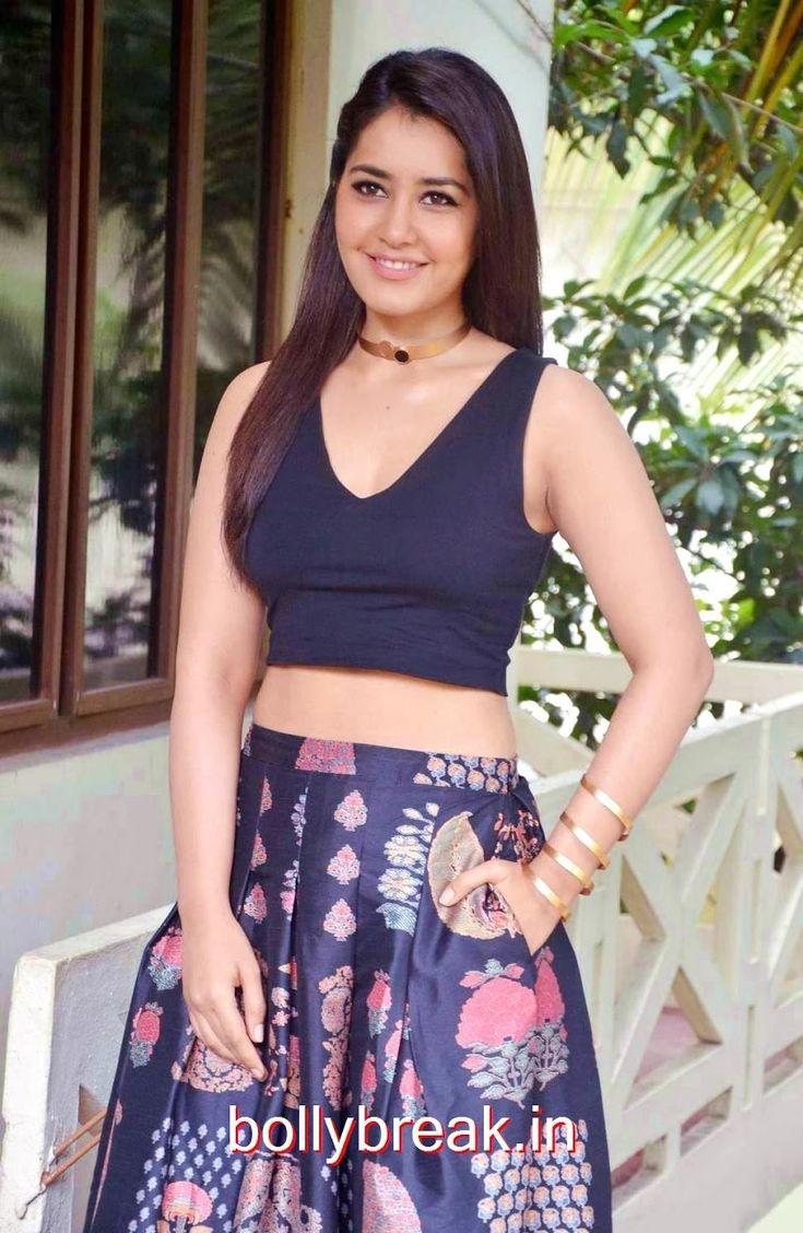 Rashi Khanna Photoshoot Stills in Black Dress