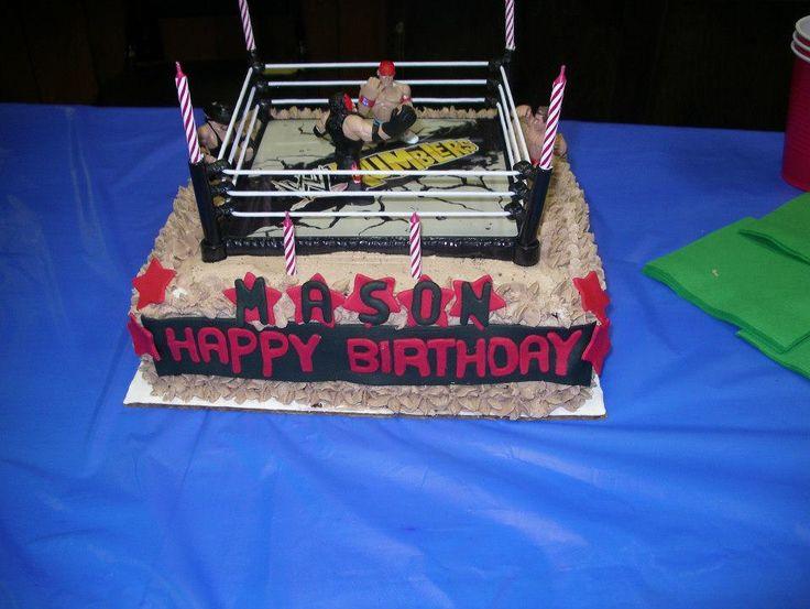 Wwe Championship Belt Cake Kit