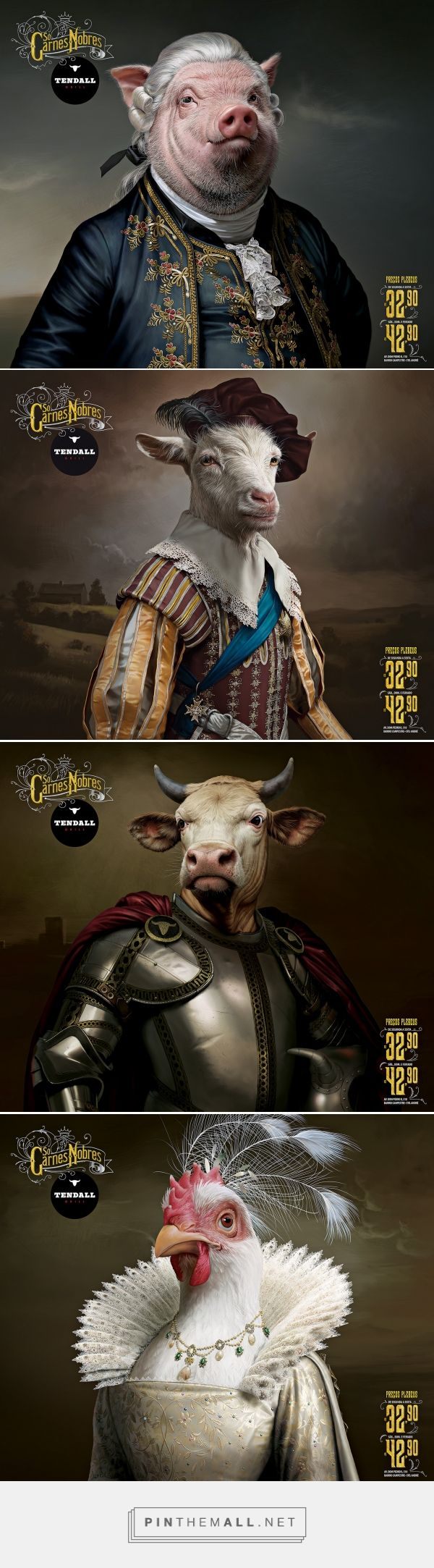Tendall - Só Carnes Nobres on Behance... - a grouped images picture - Pin Them All