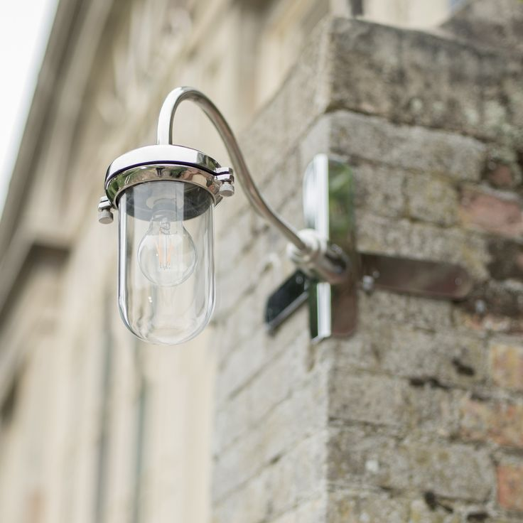 This #Stainless #Steel #outdoor #light. Is perfect for being #corner mounted or flat mounted.