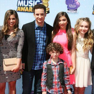 Corey Fogelmanis, Danielle Fishel, Ben Savage, August Maturo, Rowan Blanchard, Sabrina Carpenter, Peyton Meyer in Radio Disney Music Awards 2014