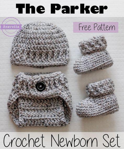 288 besten crocheted baby items Bilder auf Pinterest | Baby ...