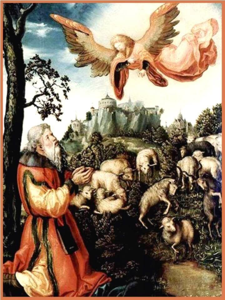 Glorioso patriarca san Joaquín noble de nacimiento y del rey  David descendiente hombre rico y piadoso, varón justo y creyente. ...