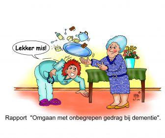 Rapport 'Omgaan met onbegrepen gedrag bij dementie'