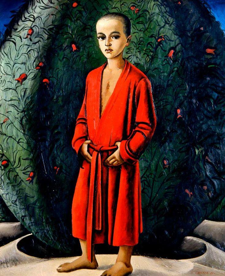 Салахов Таир Теймурович - Портрет Дана Живопись Размеры (высота × ширина): 120 × 100 Год: 1983