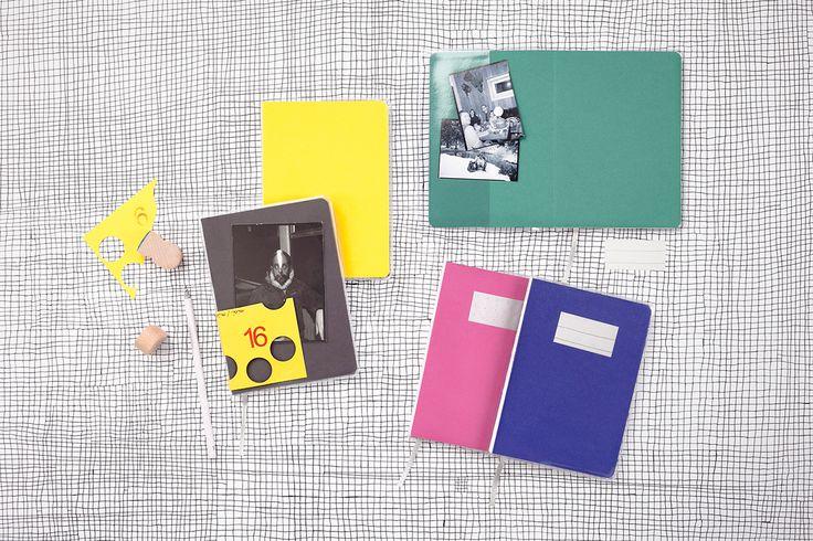 Komponente (týdenní) papelote - nové české papírnictví new czech stationery, Prague diary, journal, planner