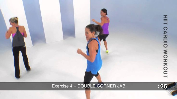 Did this today, and it was a great fast workout. HIIT Cardio Workout (10 minutes)