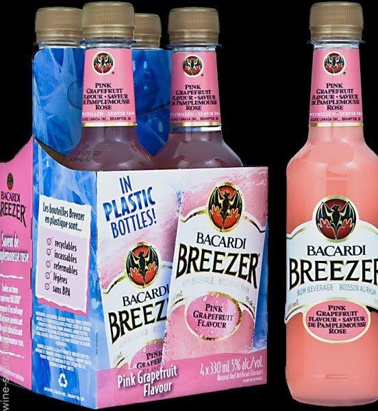 Bacardi Breezer Standard Drinks