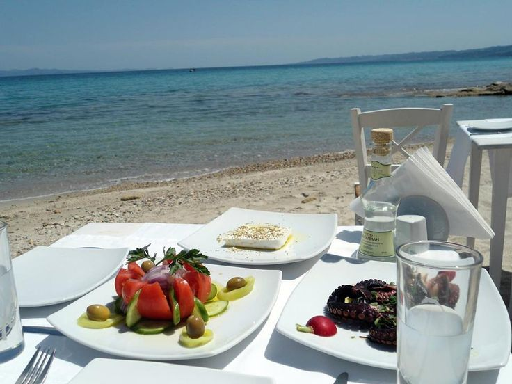 Athitos beach, Kassandra, Chalkidiki, Northern Greece.