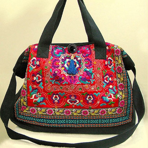 Handmade Ornamented Boho Large Bag/Tote by KultomaniA on Etsy, $110.00