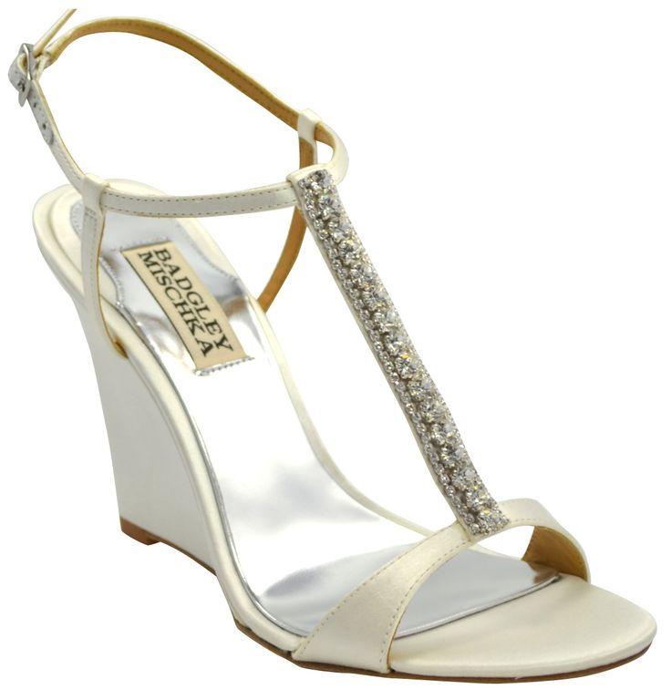 98 best Shoes images on Pinterest | Wedding wedges, Bridal shoe ...