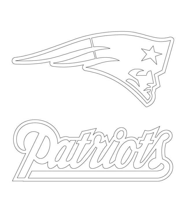 New England Patriots Coloring Pages Printable Free Coloring Sheets New England Patriots Logo Patriots Logo Football Coloring Pages
