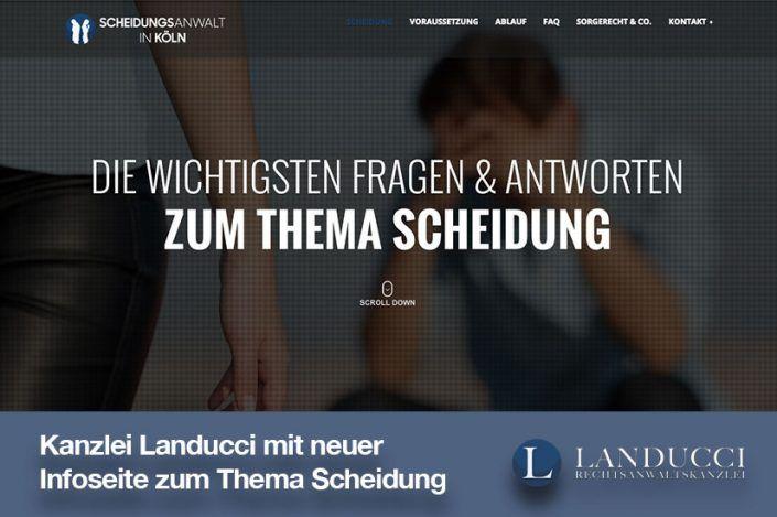 Scheidungsanwalt-in-Köln.de: Neue Infoseite zum Thema Scheidung