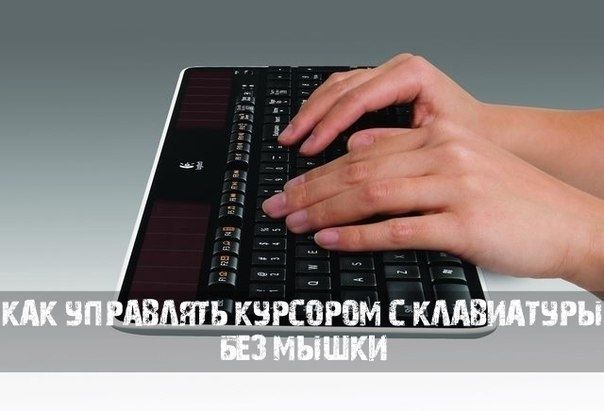 Как управлять курсором с клавиатуры. 0