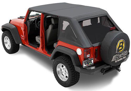 Jeep Accessory - Bestop Jeep Wrangler Trektop Soft Top