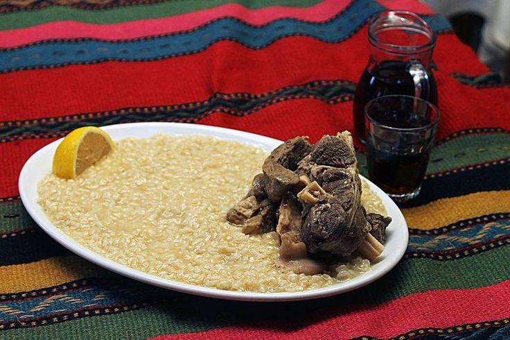 Συνταγή για Κρητικό Πιλάφι (Γαμοπίλαφο)