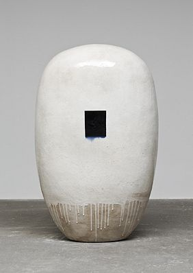 Jun Kaneko Love his work. this piece is probably four feet tall. Quite a feat