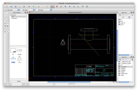 LibreCAD is a free Open Source CAD application for Windows, Apple and Linux. Support and documentation is free from our large, dedicated community of users, contributors and developers.