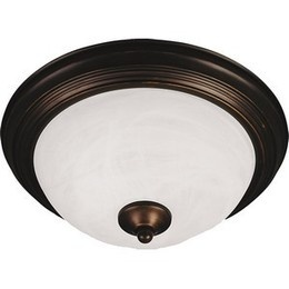 upstairs bedrooms - oil rubbed bronze: Ceiling Fixtures, Maxim Mx, Mx 5842, Featuring Marble, Fixture Featuring, Builder Essentials, Flushmount Ceiling