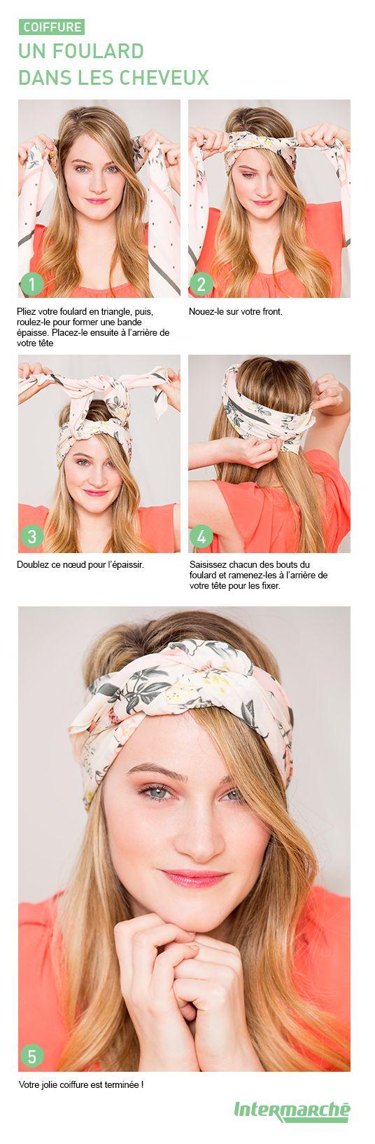 les 25 meilleures id es concernant nouer un foulard sur pinterest charpe nou e porter. Black Bedroom Furniture Sets. Home Design Ideas