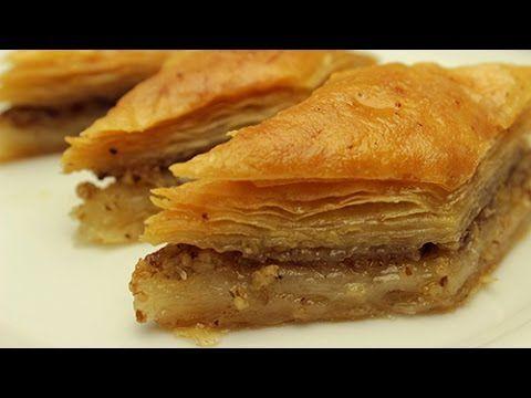 Turkish Baklava Recipe - How to make Easy Baklava Dessert (from Scratch)