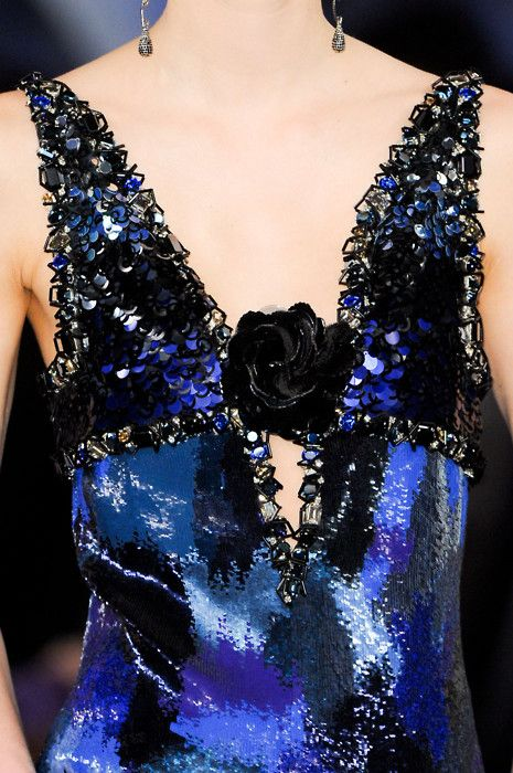 Chanel Haute Couture Spring 2012.: Couture Details, Spring Dresses, Fashion Details, Couture Spring, Chanel Spring, Blue Rose, Spring 2012, Chanel Haute, Haute Couture