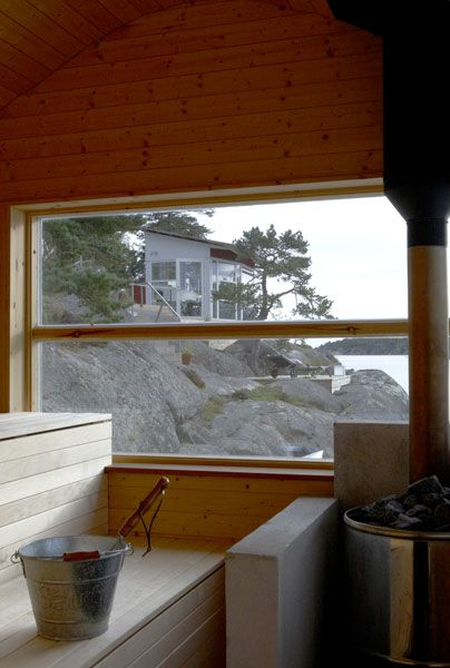 Sauna with a view Landström Arkitekter