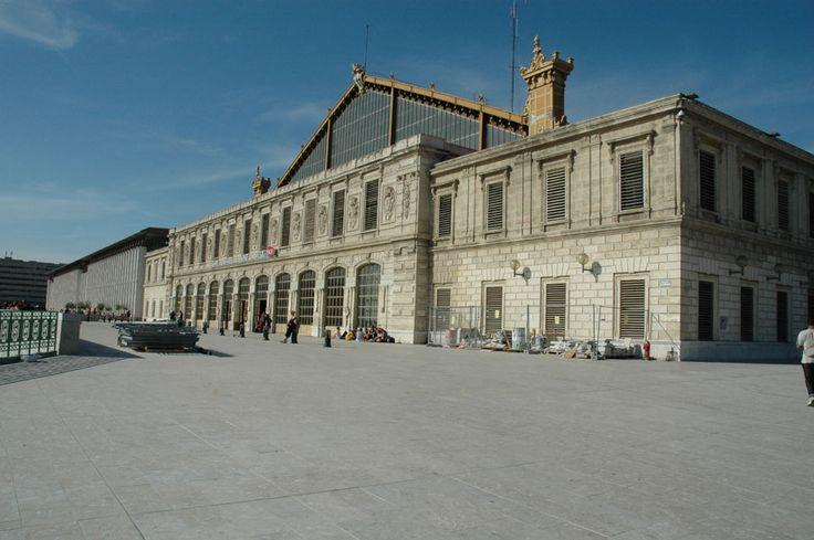 marseille - la gare saint charles