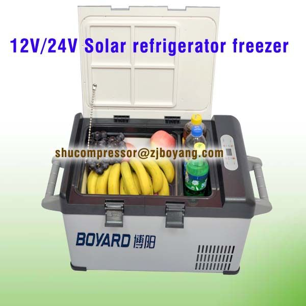 Mini car fridge dc 12v 24v with marine fridge compressor for camping fridge freezer #Affiliate