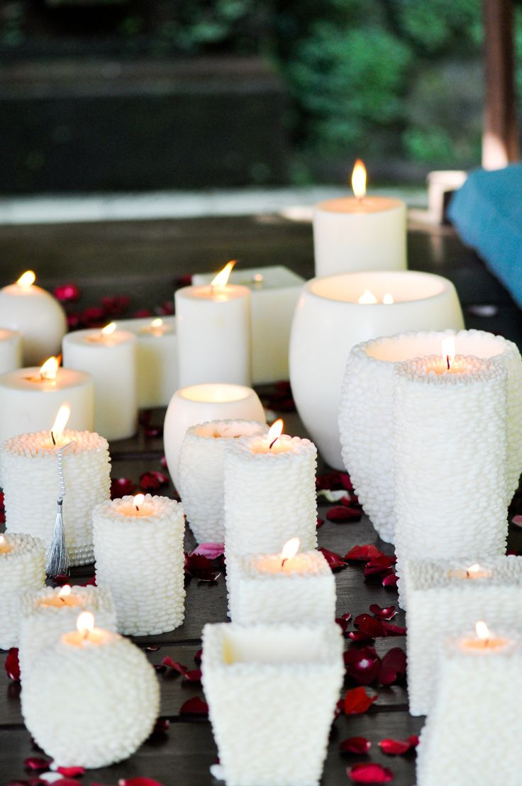 our lovely textured grain candles - spa & serenity.   www.volcanicacandles.com