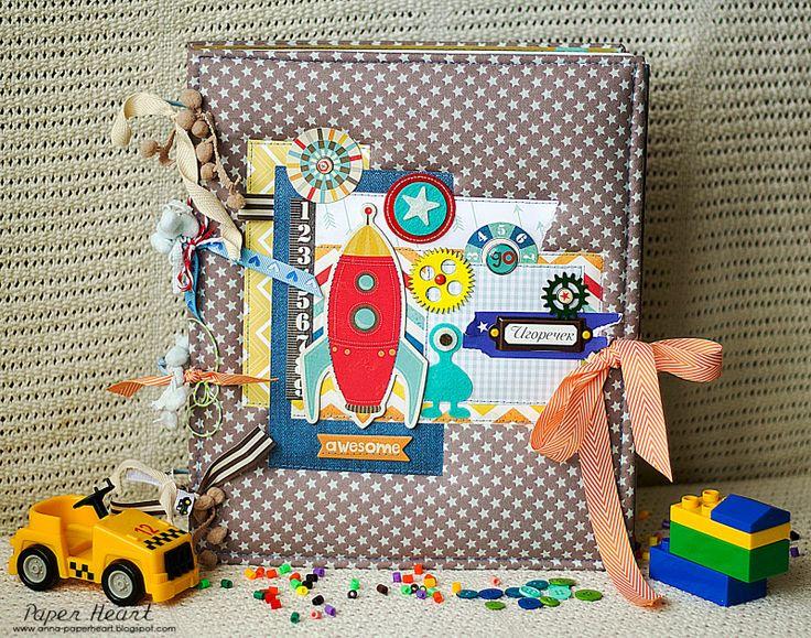 Paper Heart: ♥ Яркий и мальчишечный альбом ♥