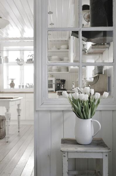 stunning white kitchen #sliceofheaven