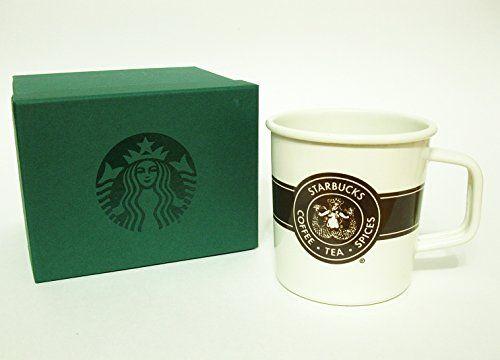 STARBUCKS Original Logo Enamel Mug - 14 fl oz Starbucks https://www.amazon.ca/dp/B01NAF7RVJ/ref=cm_sw_r_pi_dp_x_9jZqybRGMX330